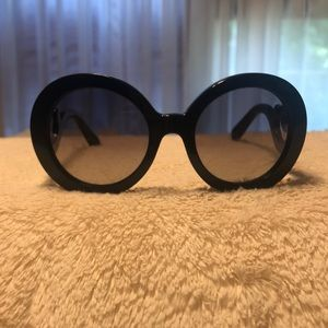 Prada Women's Sunglasses - Black Frame